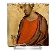 St Luke Shower Curtain