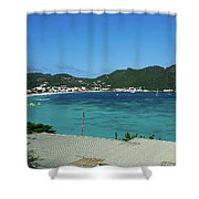 St. Marrten Caribbean Island Shower Curtain