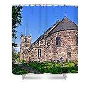 St Mary's Church - Tutbury Shower Curtain