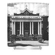 St. Mary's School - Raleigh, North Carolina Shower Curtain