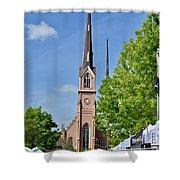 St. Matthew's German Evangelical Lutheran Church Shower Curtain