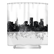 St Paul Minnesota Skyline Shower Curtain