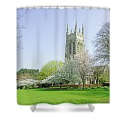 St Peter's Church - Stapenhill Shower Curtain