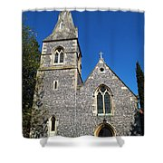 St Peters Marlow Shower Curtain