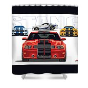 Stang 2 Shower Curtain