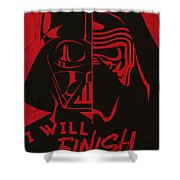 Star Wars - The Force Awakens Shower Curtain