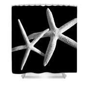 Starfish Tango Shower Curtain