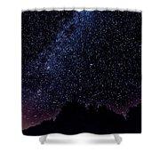 Stars Over Black Oak Lake 1 Shower Curtain