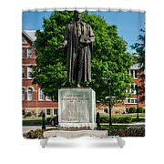 Statue Of Chief Justice John Marshall Shower Curtain