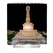 Statue Of Dom Pedro Iv Shower Curtain