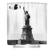 Statue Of Liberty, 1909 Shower Curtain
