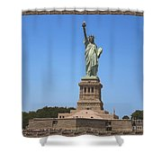 Statue Of Liberty New York America July 2015 Photo By Navinjoshi At Fineartamerica.com  Island Landm Shower Curtain