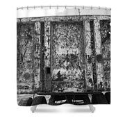 Steele Wall Shower Curtain