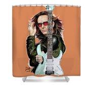 Steve Vai Shower Curtain