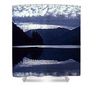 Still Mountain Lake 2  Shower Curtain