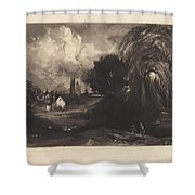Stoke-by-neyland Shower Curtain