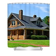 Stone Church Shower Curtain