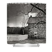 Stone Farmhouse Shower Curtain