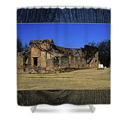 Stone Fort Shower Curtain