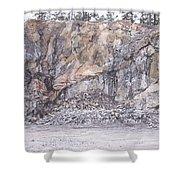 Stone Mine Shower Curtain