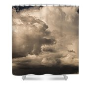 Storm Over Table Rock Shower Curtain