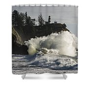 Storm Surf Shower Curtain
