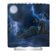 Stormy Weather Shower Curtain by Solomon Barroa