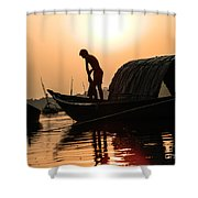 Story Of A Life Shower Curtain