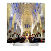 St.patricks Cathedral Restored Shower Curtain
