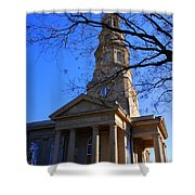 St.philips Episcopal Church In Charleston Sc Shower Curtain