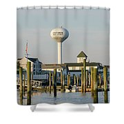 Strathmere New Jersey Shower Curtain