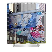 Street Photography Shower Curtain