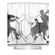 String Quartet, C1935 Shower Curtain