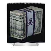 Stripper Stack Shower Curtain