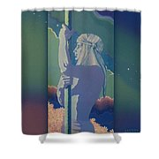 Strong And Gentle Shower Curtain