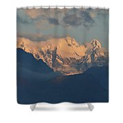Stunning Countryside Of Northern Italy With The Alps  Shower Curtain