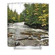 Sturgeon River Shower Curtain