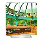 Subway Station 2 Shower Curtain