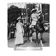 Suffragettes, 1913 Shower Curtain