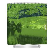 Summer In Norway Shower Curtain