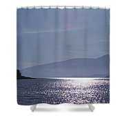 Sun On The Ocean  Shower Curtain