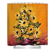 Sunflowers For You Shower Curtain