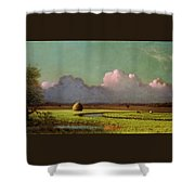 Sunlight And Shadow Shower Curtain