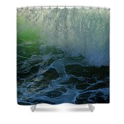 Sunlight And Surf Shower Curtain