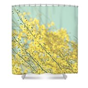 Sunny Blooms 3 Shower Curtain