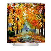 Sunny October Shower Curtain