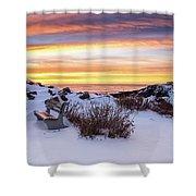 Sunrise At Marginal Way Shower Curtain