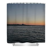 Sunrise At Townsends Inlet Shower Curtain