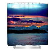Sunrise Over Uruguay Shower Curtain