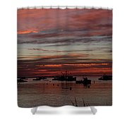 Sunrise Rye Nh Shower Curtain